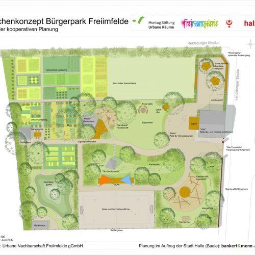 Plan: Bankert&Menn Landschaftsplanung