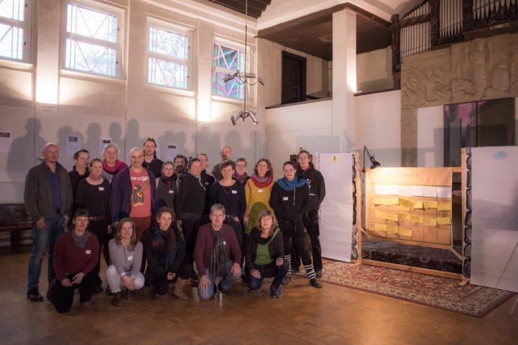 Werkstattgruppe in der Christuskirche - Foto: Simon Rüger